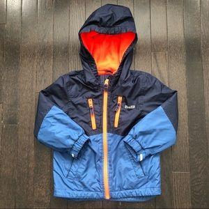 OshKosh 3T Fleece Lined Colourblock Jacket